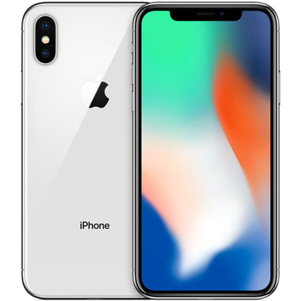Apple iPhone X 64GB Stříbrná