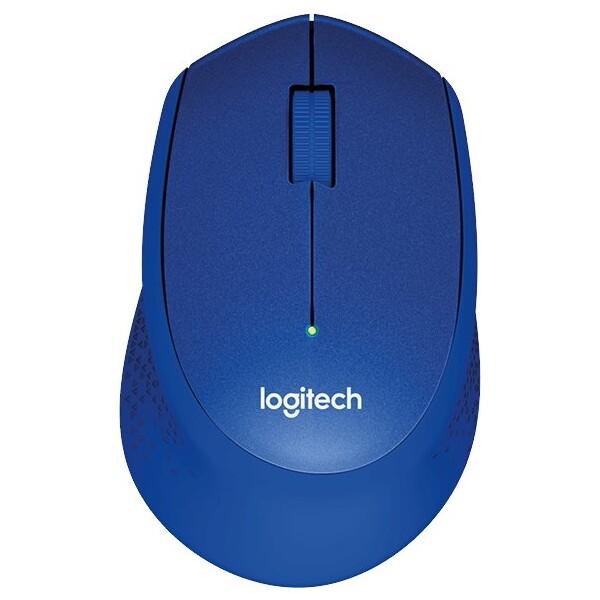 Logitech M330 Silent Plus modrá