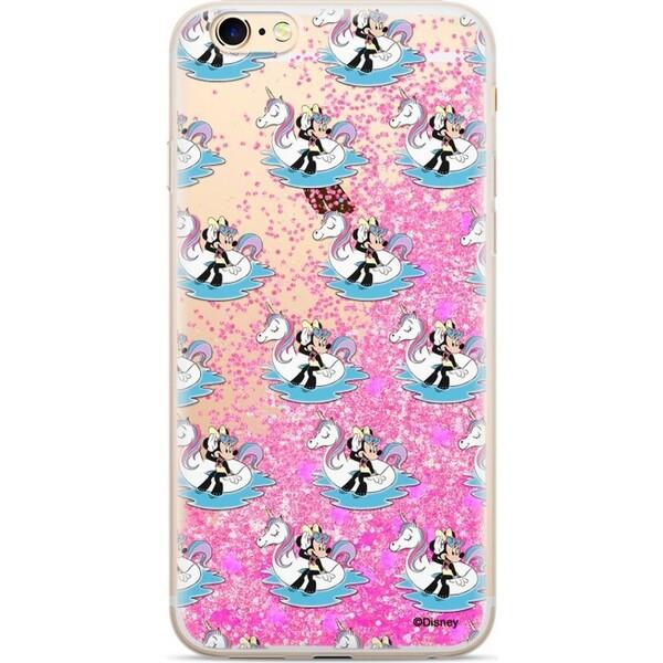 Disney Minnie 030 Glitter zadní kryt iPhone 6 6S 7 8 růžový 5ee427eb9fb