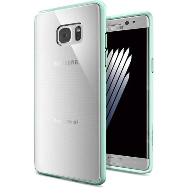Spigen Ultra Hybrid kryt Samsung Galaxy Note 7 modro-zelená