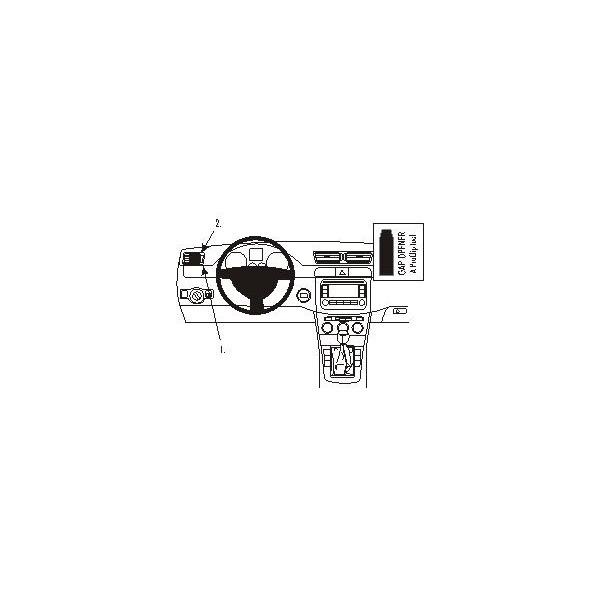 Brodit ProClip montážní konzole pro Volkswagen Passat 05b-11/CC 09-11