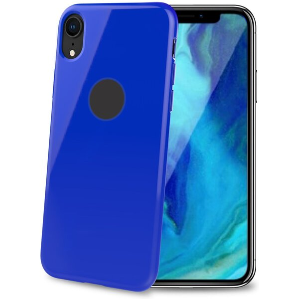 CELLY Gelskin TPU pouzdro Apple iPhone XR modré