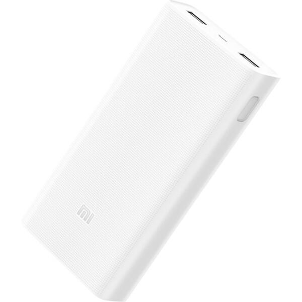 Xiaomi Power Bank Portable 2C powebanka 20000 mAh bílá
