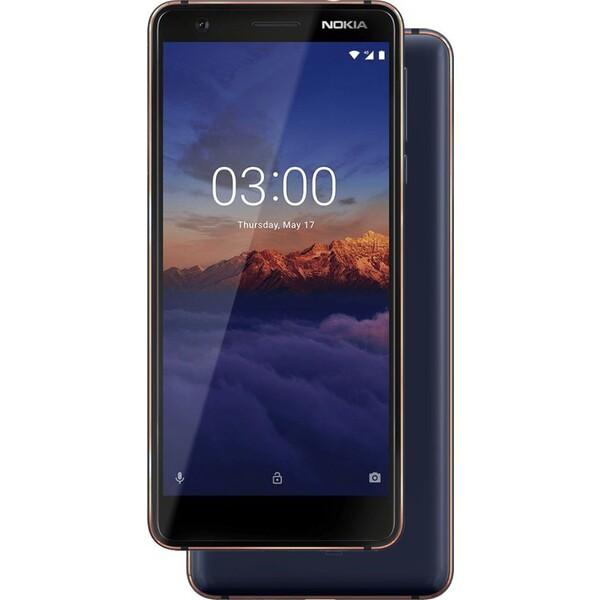 Nokia 3.1 Dual SIM Modrá