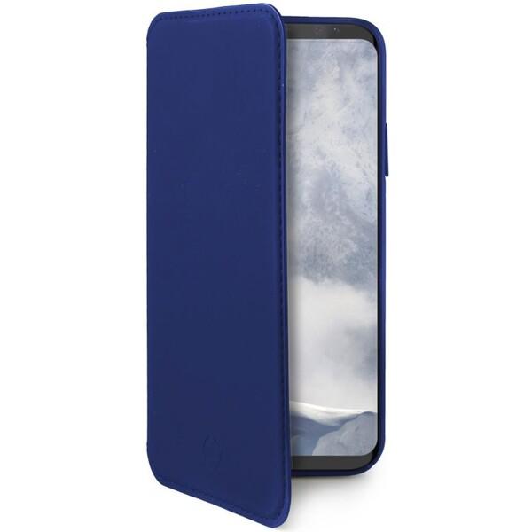 CELLY Prestige pouzdro typu kniha Samsung Galaxy S9 modré