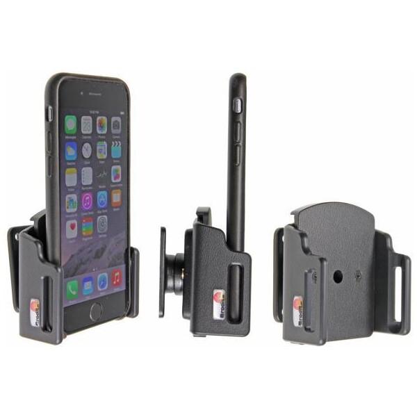 Brodit držák do auta na Apple iPhone 6/6s/7 v pouzdru, nastavitelný, bez nabíjení 511666 Černá