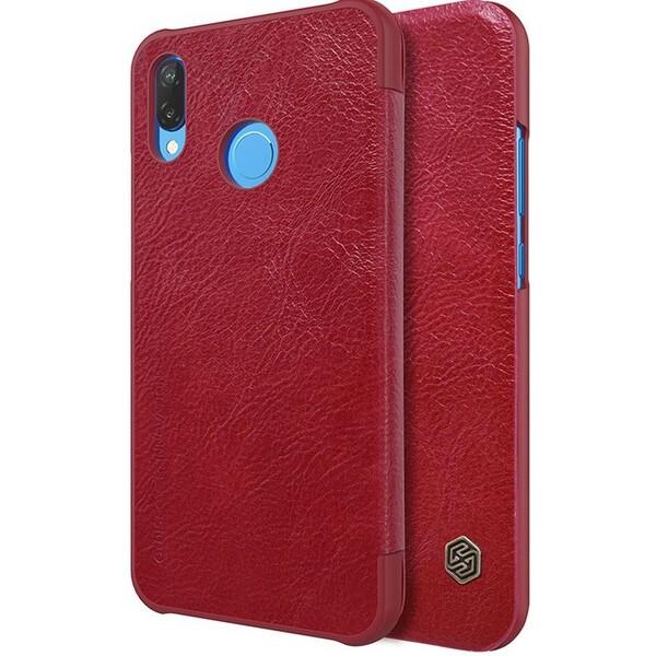 Nillkin Qin Book pouzdro Huawei P20 Lite červené