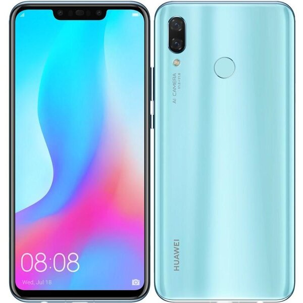 Huawei Nova 3 Dual SIM Světle modrá
