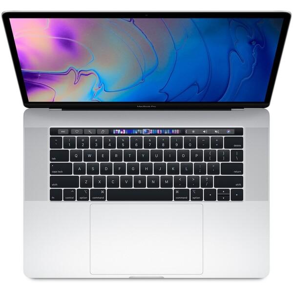 "CTO Apple MacBook Pro 15,4"" Touch Bar / 2,6GHz / 32GB / 512GB / R560X / stříbrný (2018)"