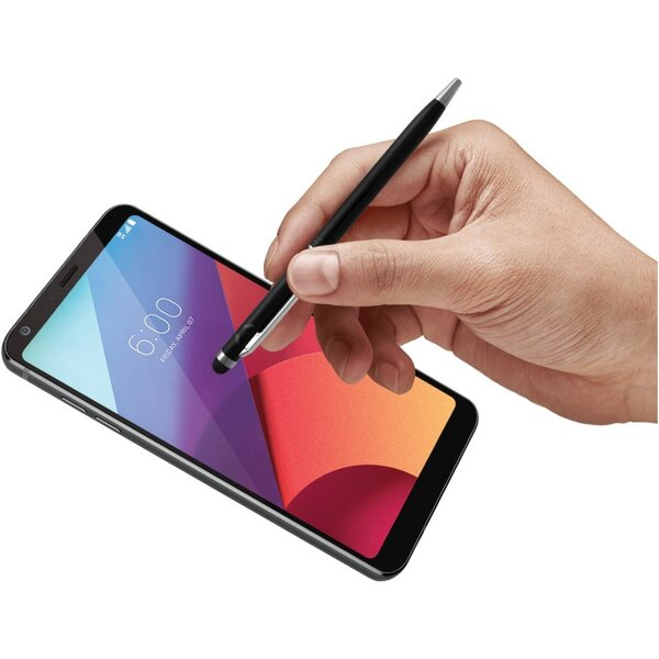 FIXED Pen2 Psací pero 2v1 se stylusem pro dotykové displeje černá (FIXS-PEN2-BK) Černá