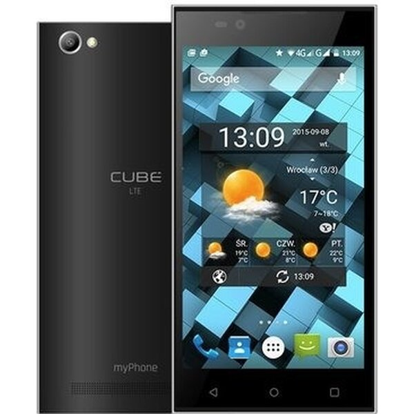 myPhone CUBE LTE Dual SIM Černá