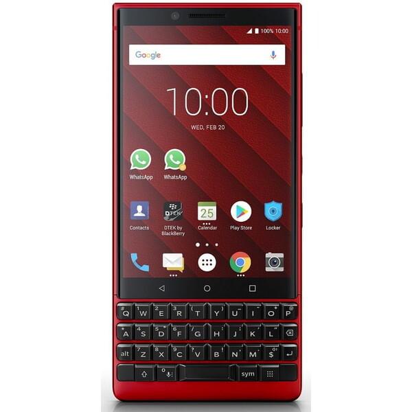 BlackBerry Key2 Červená