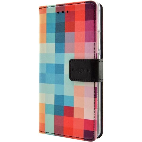 Pouzdro FIXED Opus Samsung Galaxy J3 motiv Dice Kostkovaný