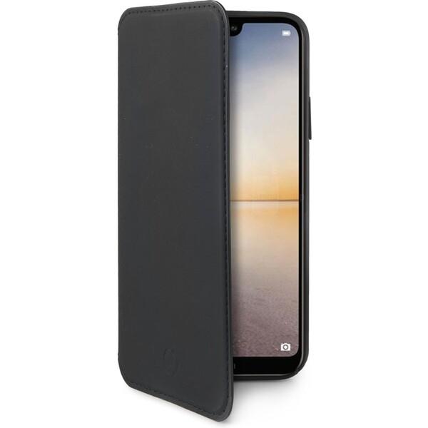 CELLY Prestige pouzdro typu kniha Huawei P20 Lite černé PRESTIGE744BK Černá