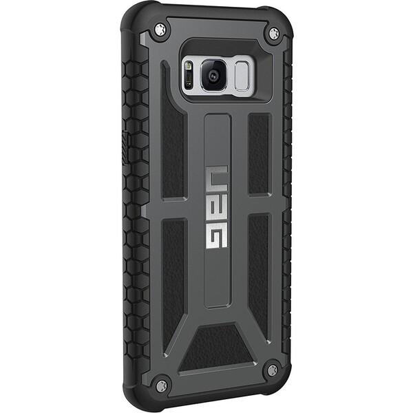 Pouzdro UAG Monarch case Samsung Galaxy S8 Šedá