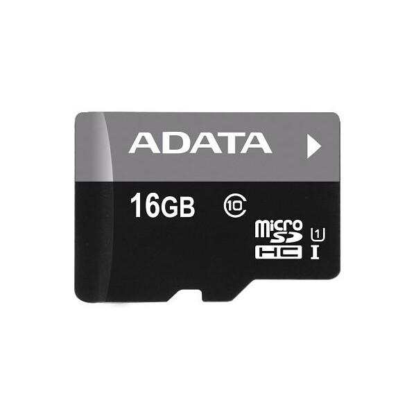 ADATA Premier microSDHC 16GB UHS-I U1 AUSDH16GUICL10-R Černá