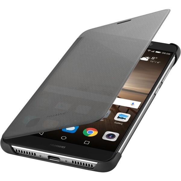 Pouzdro Huawei flipové Smart View Huawei Mate 9 šedé Šedá