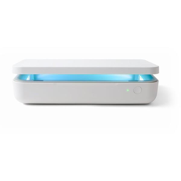 Samsung UV sterilizátor a bezdrátová nabíječka bílý