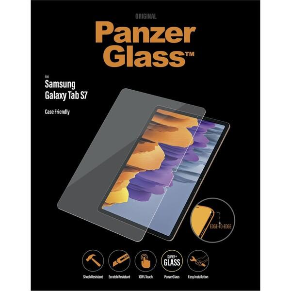 PanzerGlass Edge-to-Edge Samsung Galaxy Tab S7 čiré