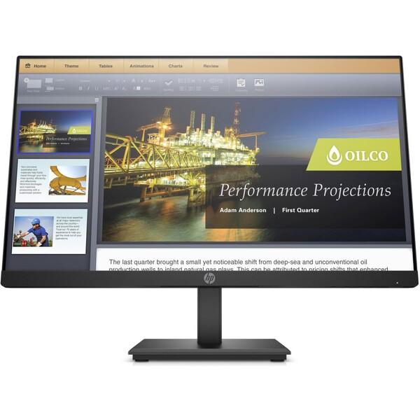 HP P224 monitor 21.5'' černý
