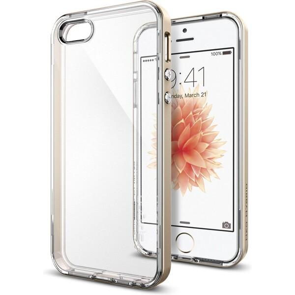 Kryt Spigen Neo Hybrid Crystal, gold - iPhone SE/5s/5 (041CS20182) Zlatá