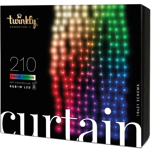 Twinkly Curtain Special Edition chytrý závěs se žárovkami 210 ks