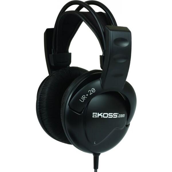 KOSS sluchátka UR20 černá
