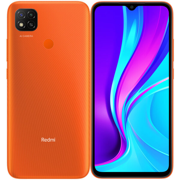 Xiaomi Redmi 9C NFC 3GB/64GB Sunrise Orange