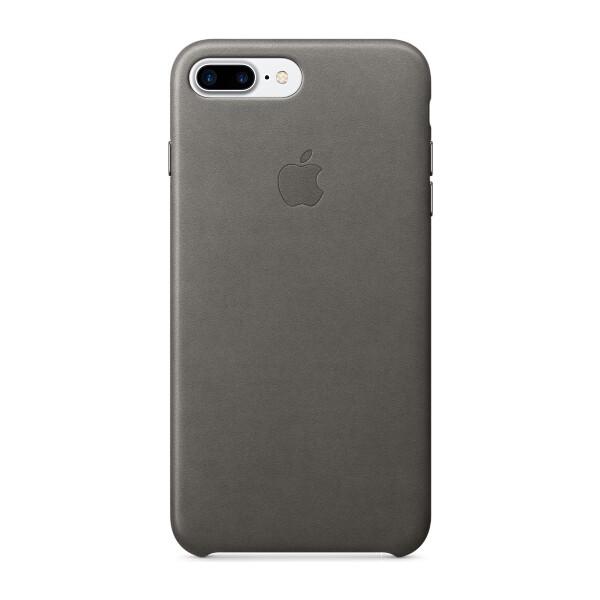 Pouzdro APPLE iPhone 7 Plus Leather Case Bouřkově šedá