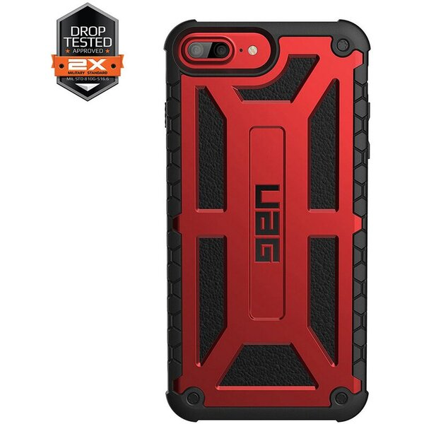 UAG Monarch odolné pouzdro Apple iPhone 7 Plus 6s Plus červené 5be7f808873