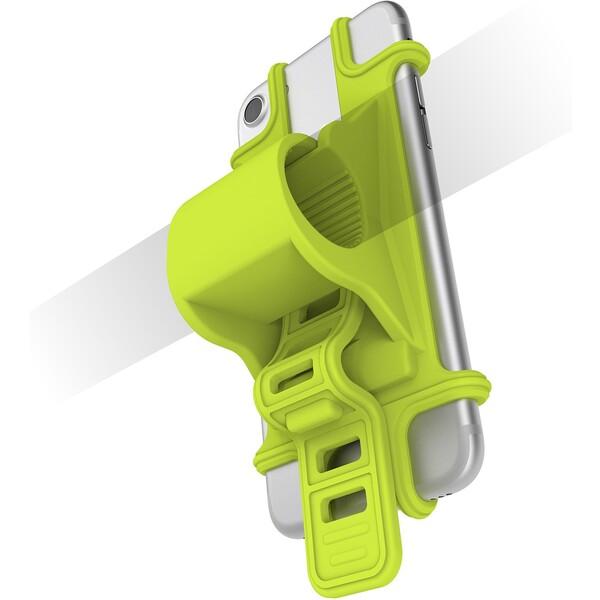 Univerzální držák CELLY EASY BIKE pro telefony a navigace k upevnění na řídítka EASYBIKEGN Zelená