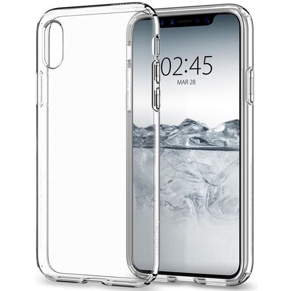 Spigen Liquid Crystal, clear - iPhone X Čirá