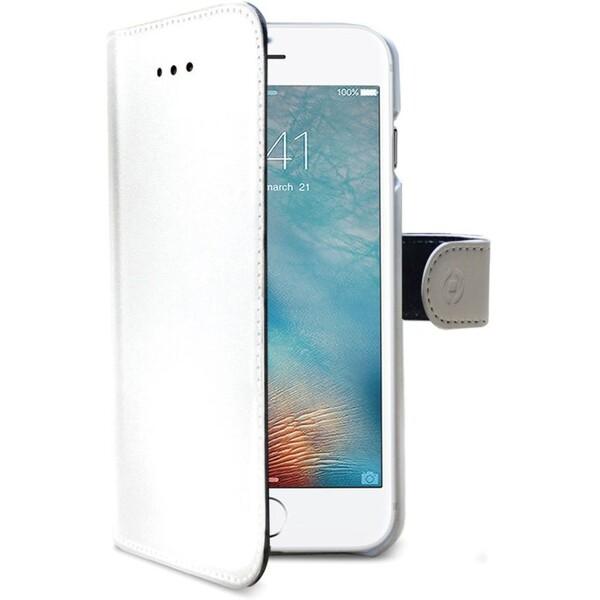 Pouzdro Celly Wally Apple iPhone 8/7 - bílé Bílá