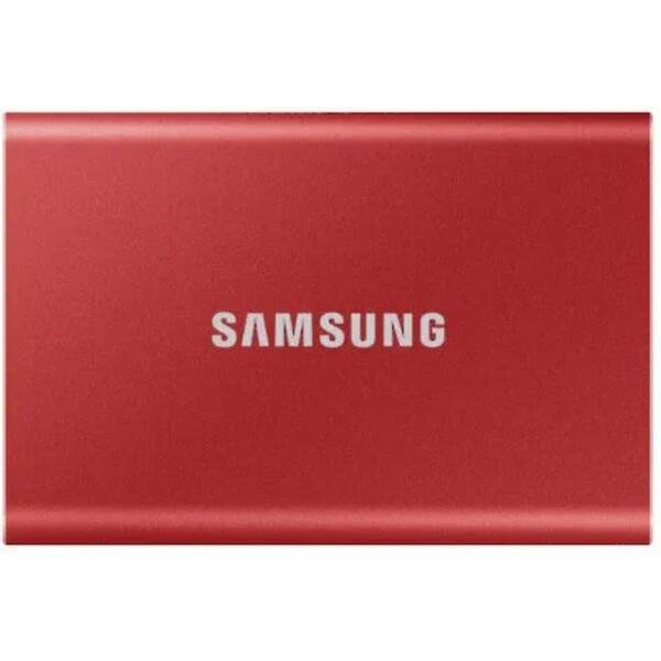 Samsung Portable SSD T7 500GB červený