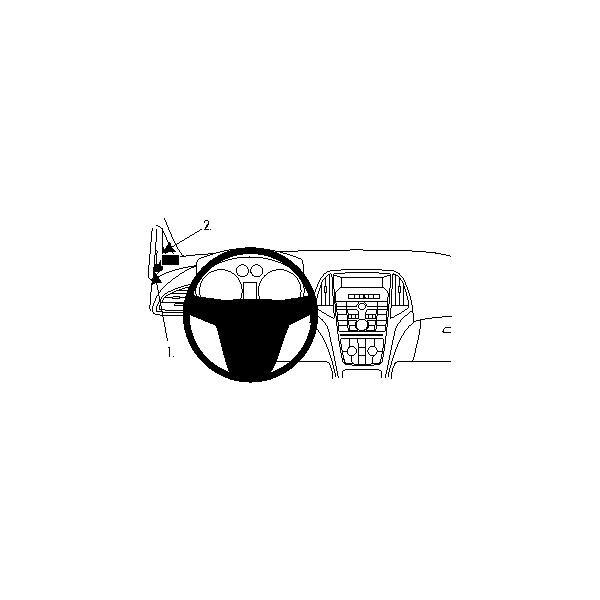 Brodit ProClip montážní konzole pro Opel Astra 10-15
