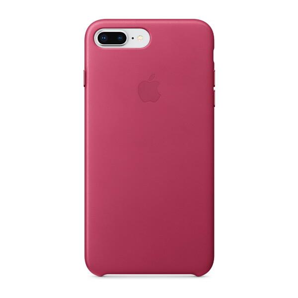 Pouzdro Apple kožené iPhone 8 Plus / 7 Plus fuchsiové Fuchsiová