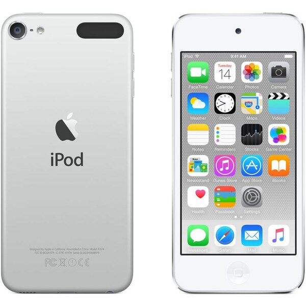 Apple iPod touch 128GB stříbrný (2017)