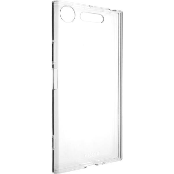 Pouzdro FIXED TPU gelové Sony Xperia XZ1 čiré Čirá