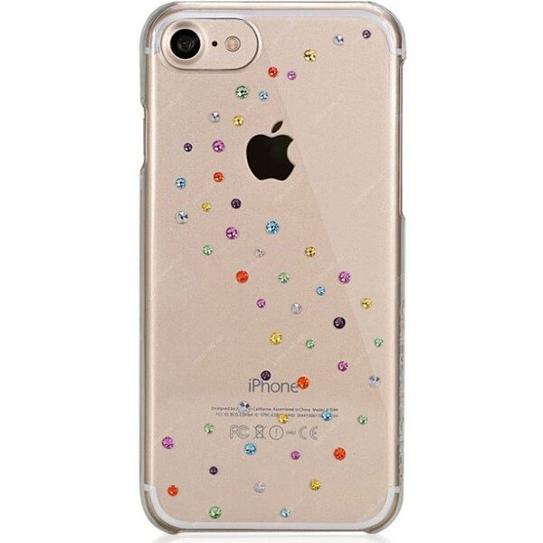 Pouzdro Bling My Thing Milky Way Rose Sparkles Apple iPhone 7/8 with Swarovski® crystals Čirá
