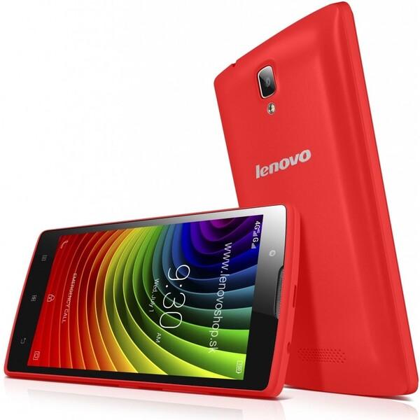 Lenovo A2010 Dual SIM LTE červený