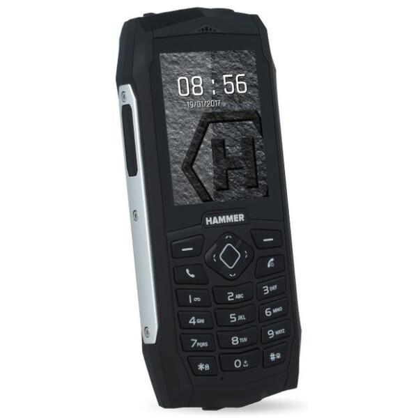 myPhone HAMMER 3 Plus Dual SIM Stříbrná