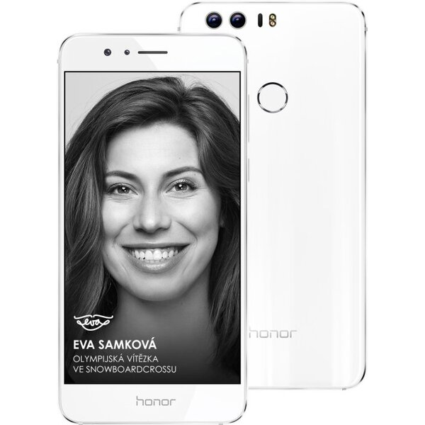 Honor 8 32GB Dual SIM LTE bílý
