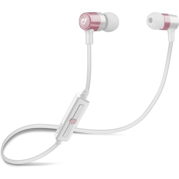 Cellularline Unique Design bezdrátová sluchátka pro iPhone růžovozlatá Růžově zlatá