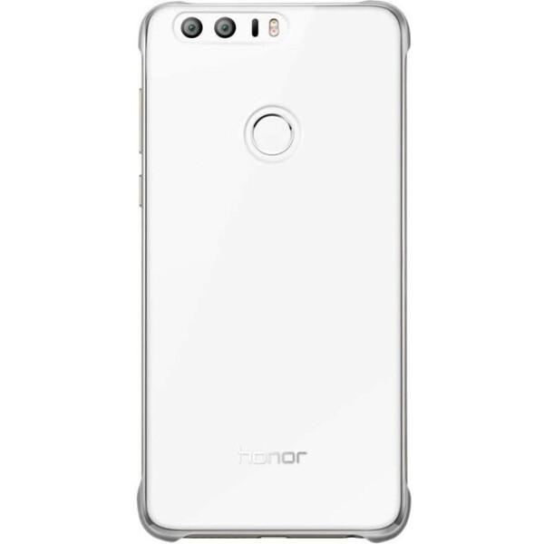 Pouzdro Honor 8 Protective Cover Case stříbrné Stříbrná