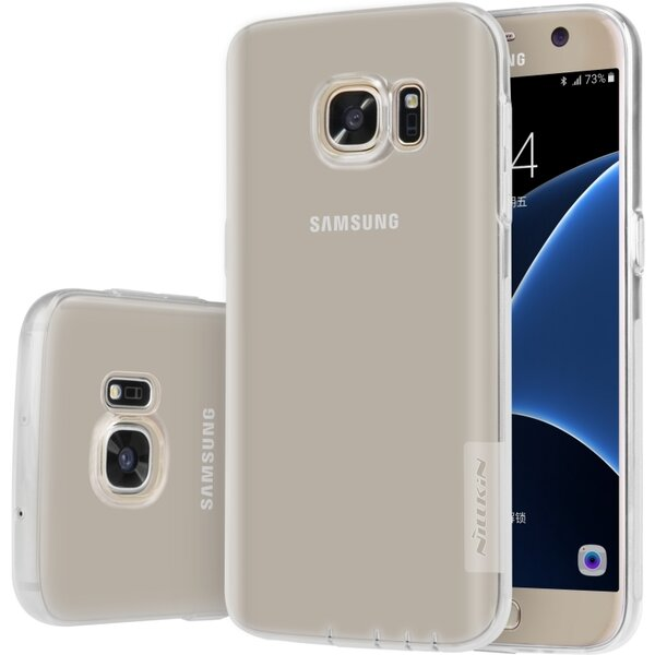 Nillkin Nature TPU pouzdro Samsung G930 Galaxy S7 čiré