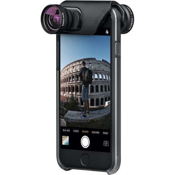 Olloclip core lens black/black - i7/i7+ OC-0000213-EU Černá