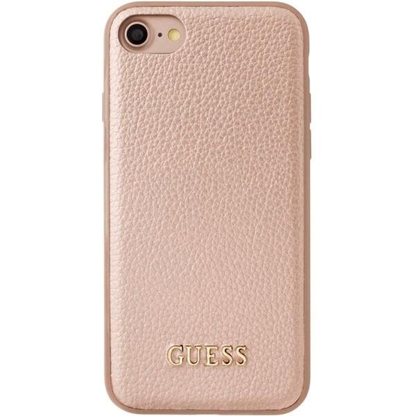 Pouzdro Guess IriDescent TPU Rose iPhone 7 zlaté Růžově zlatá