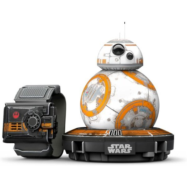 Dron Sphero BB-8 Star Wars Special Edition - R001SRW Bílá