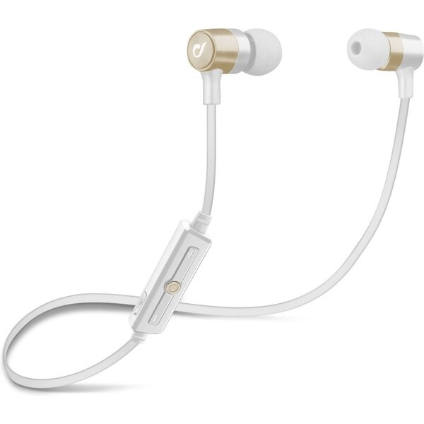Cellularline Unique Design bezdrátová sluchátka pro iPhone zlatá Zlatá