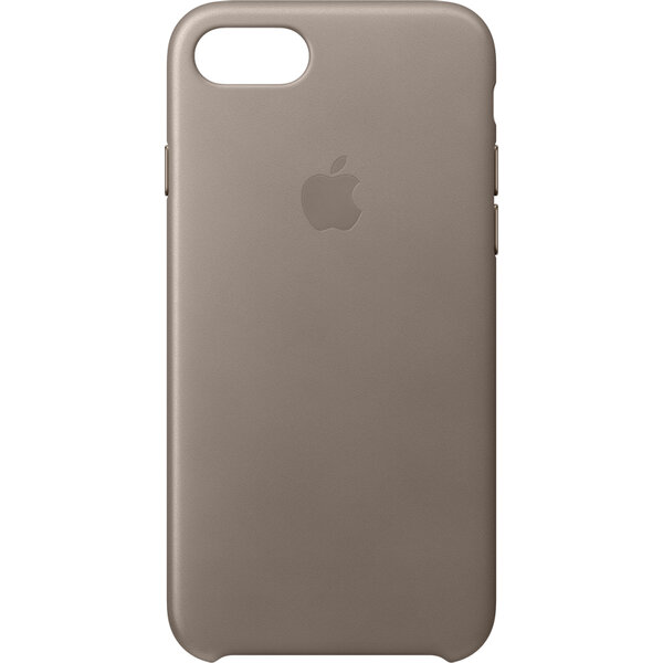 Pouzdro Apple Leather Case iPhone 7 - kouřové MPT62ZM/A Kouřová